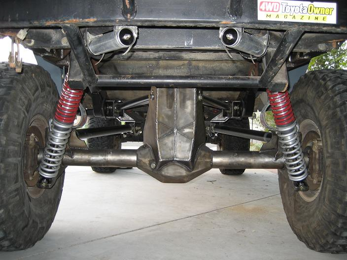 Rear Coilover Mounting